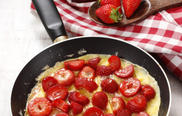 Strawberry Bliss Omelette